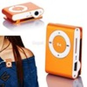 2014 New Arrival Mini Clip Metal Mp3 Player With Micro / TF Slot For Mini SD Card Mp3 flash mp3 Orange #7 SV003573