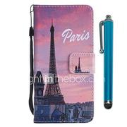 Case For Huawei P20 lite / Huawei P smart Wallet / Card Holder / with Stand Full Body Cases Eiffel Tower Hard PU Leather for Huawei P20 / Huawei P20 lite / P10 Lite