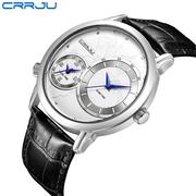 CRRJU Two Dial Men's Watches
