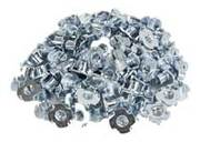 Bag of 100 3/16 T-Nuts - Rock Climbing - Rock Hold Fasteners - Rock Climbing Products