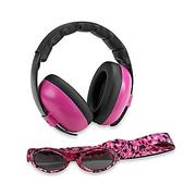 Baby Banz Baby Earmuff and Sunglasses Combination Pack - Magenta