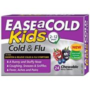 Ease A Cold Kids Cold & Flu 24 Tablets