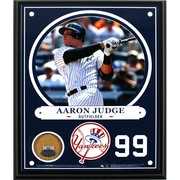 Aaron Judge New York Yankees 8x10 Plaque with Game Used Yankee Stadium Dirt