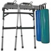 Ideal Medical Wall Mounted Crutch Rack
