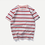 Men Striped Tee