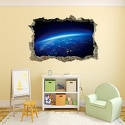 3D Planet Wall Sticker