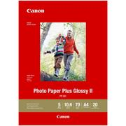 Canon A4 Photo Paper Plus Glossy II 20 Sheets 265gsm