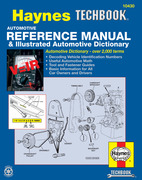 Automotive Reference Manual & Illustrated Automotive Dictionary Haynes Techbook (USA)